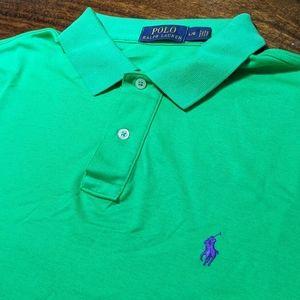 Ralph Lauren w Blue Pony 🐎 Logo Side Slits L@@K